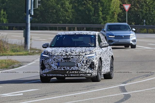 奥迪Q4 e-tron Sportback轿跑动力系统曝光 电池容量100千瓦时
