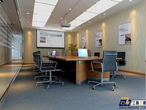 西安办公室装修铝格栅吊顶施工流程介绍