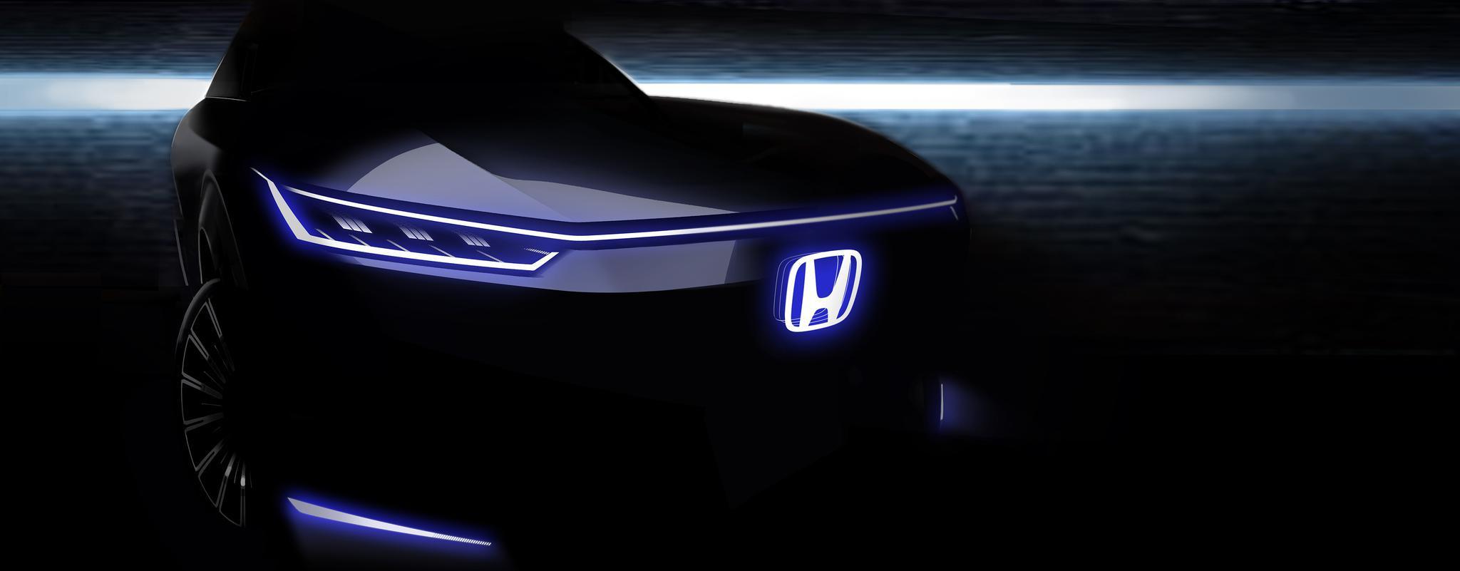 中国首款 Honda 品牌纯电动概念车 北京车展全球首发