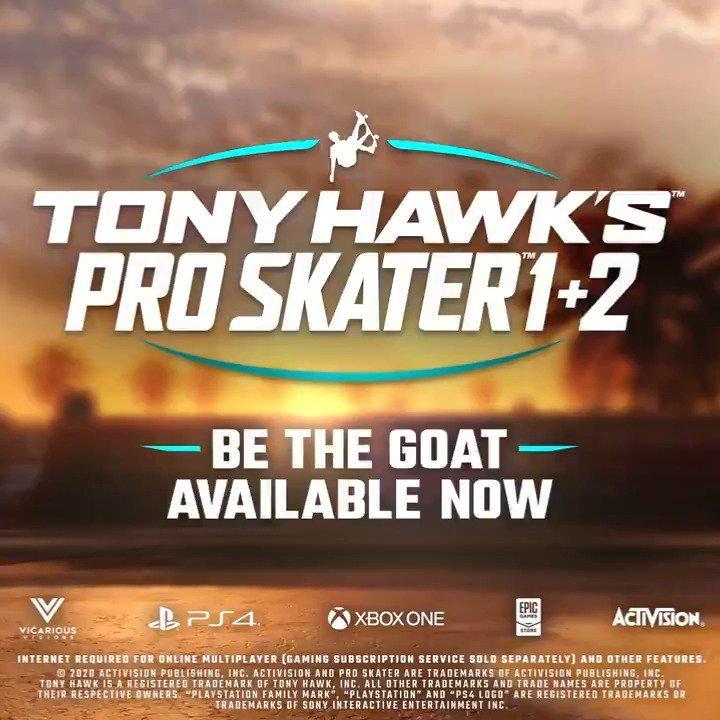 创系列记录!《托尼霍克职业滑板1+2》销量破百万