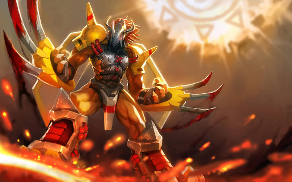 数码宝贝:各种不一样的战斗暴龙兽,你都认识吗?