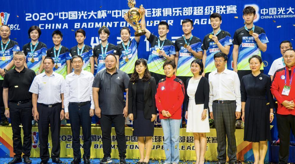 2020赛季羽超联赛总决赛青岛仁洲以3:0瑞昌碧源战胜对手