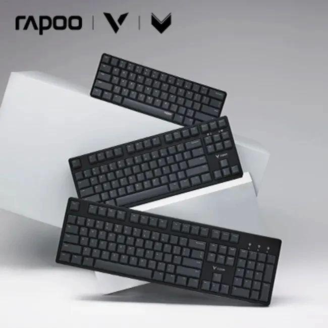 【免费试用】雷柏V860cherry轴机械键盘