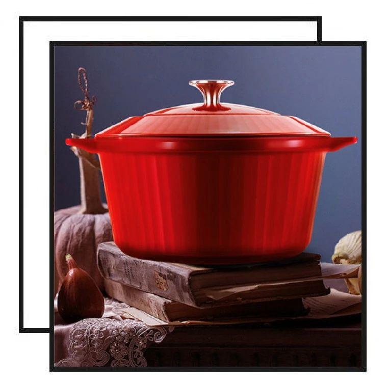 专业大厨都在用的铸铁锅,炖煮焖炒样样行!只要299元!