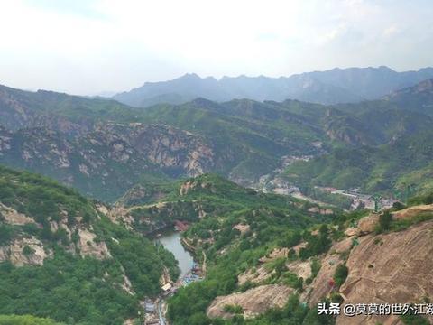 琉辛路上,清凉谷自然风景区,奇观五瀑十三潭,登高望远木栈道