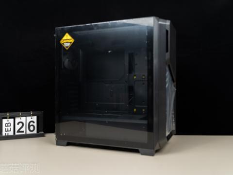 外观精致,设计新颖、安钛克守护者 DP 502FLUX中塔机箱 评测