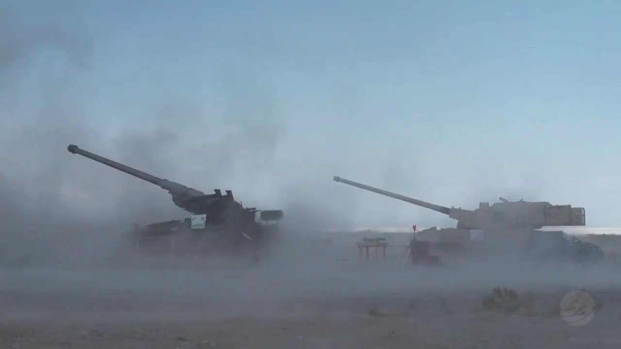 9月3日,美空军在新墨西哥州的导弹靶场用M109