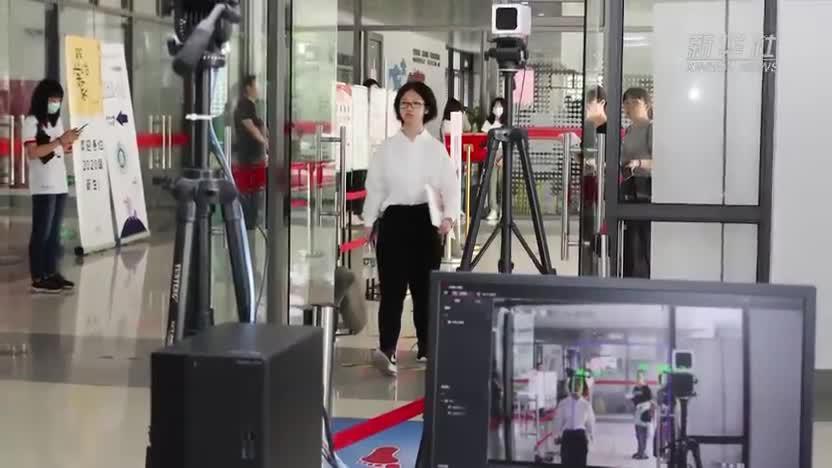 上海:华东师范大学迎新生