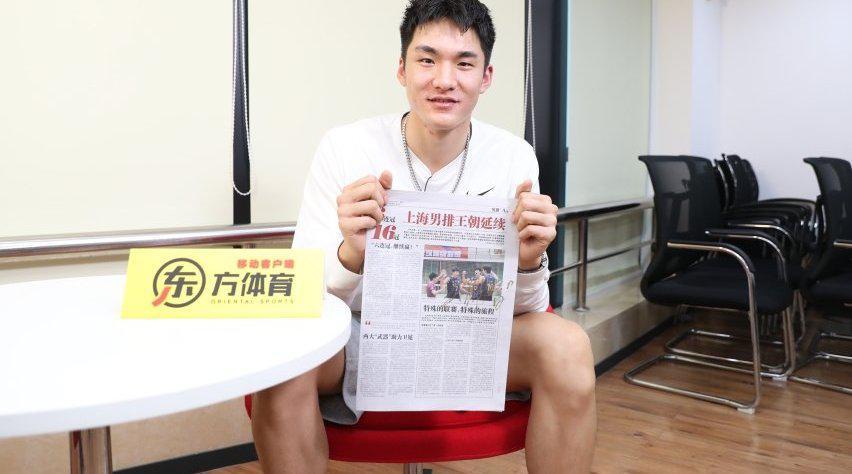 东看台丨大学遇伯乐走上职业赛场!武弸智讲述与上海男排的缘分