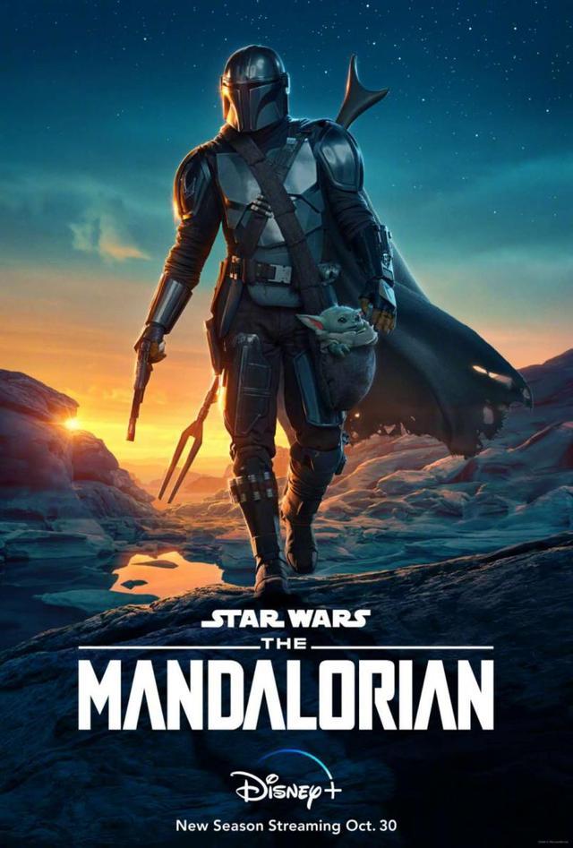 《曼达洛人》第2季预告,曼达洛人和尤达宝宝回归,网友:好期待
