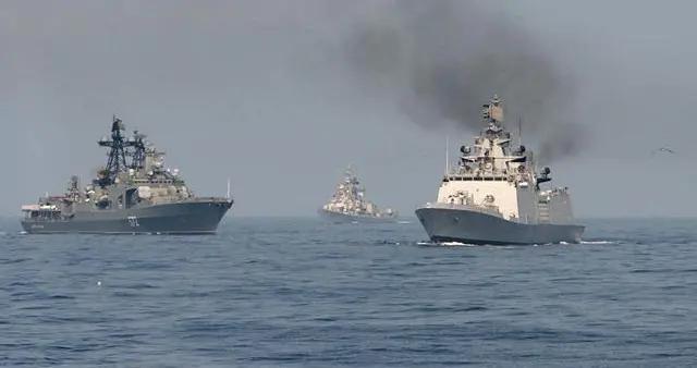 敏感时刻,俄海军助阵印军在孟加拉湾演习,传递啥信号?