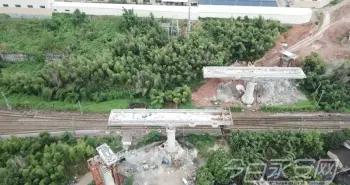 最新进展!兴泉铁路永安沙溪特大桥2、3连续梁成功转体