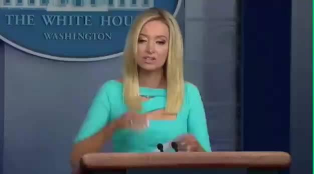 美国白宫发言人:我们的总统特朗普一直支持美国民众戴口罩……