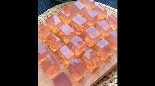 水蜜桃果冻
