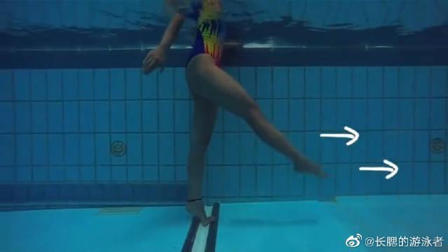 自由泳教学:水中行走,游泳呼吸和多次腿!快来学习一下吧!