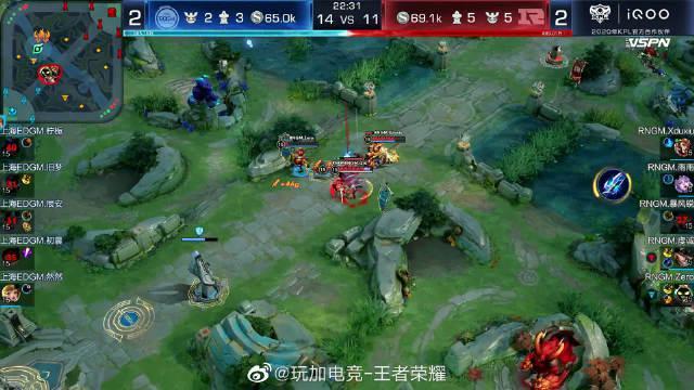 2020KPL秋季赛常规赛 RNG.M 3:2 上海EDG.M