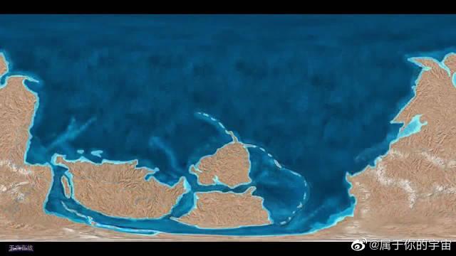 从古至今,看完地球的大陆漂移过程,这样看着真的是很厉害啊!
