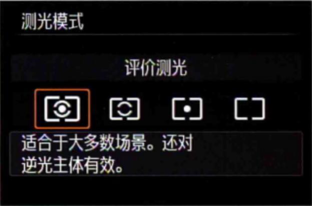 摄影知识:常用的几种测光方式