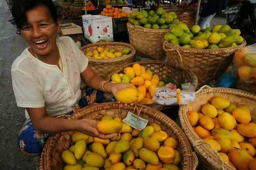 日本大妈到中国旅游,看到水果摊位,刚开口中国摊主就急眼了