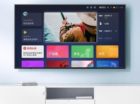 Redmi智能电视A55开启预约 4K超高清大屏首发1777元