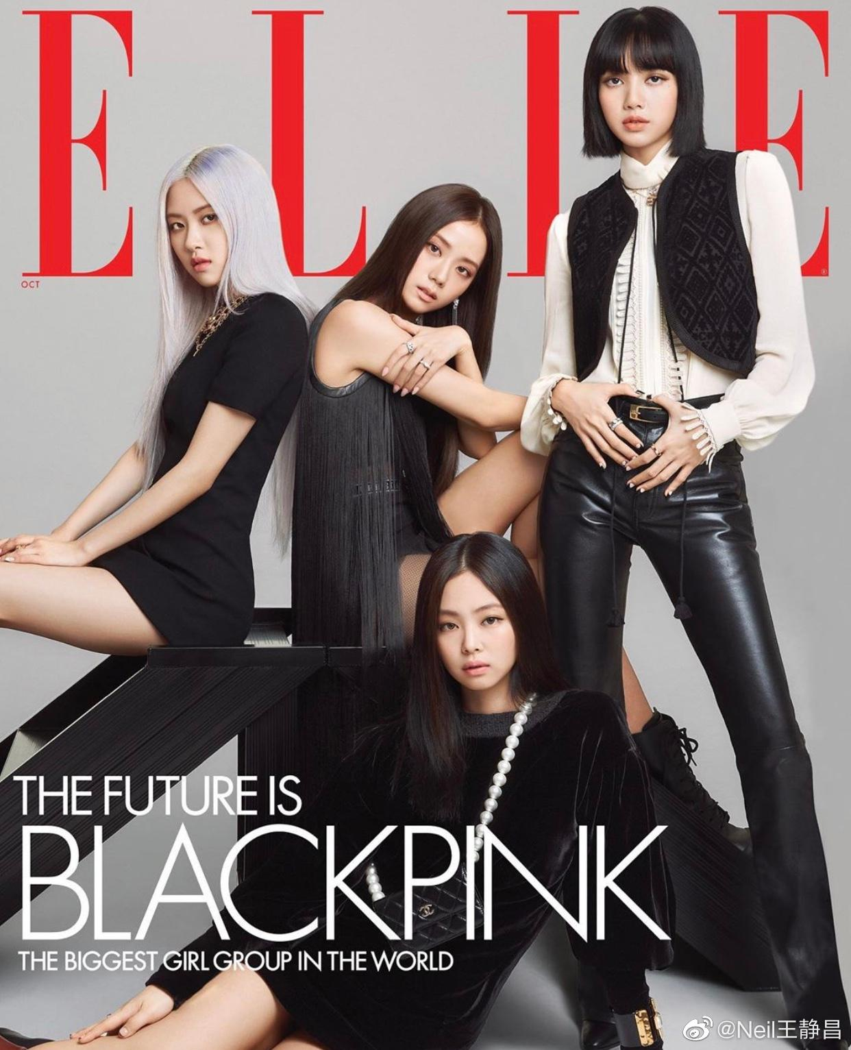 登上美国版《ELLE》十月刊封面,韩流现在是真厉害……