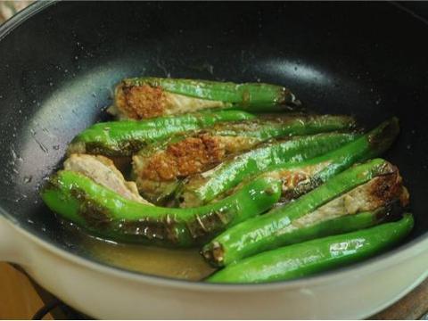 优选食谱:青椒酿肉、平菇炒肉片、柠檬生蚝、南瓜烧肉的做法