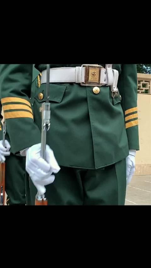 传承优良传统!钓鱼台国宾馆武警礼兵举行礼宾枪交接仪式