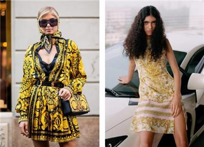 豪横的VERSACE金色:仙女也可以穿