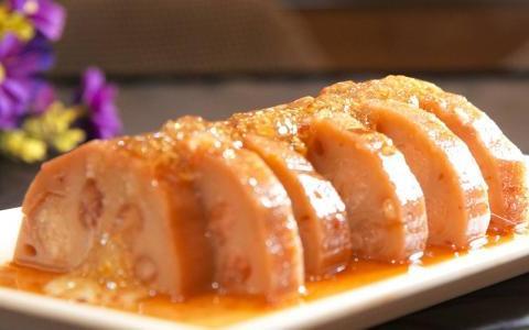 优选食谱:桂花糯米藕、菠菜炒猪肝、萝卜炖牛肉、菠萝芦笋意面