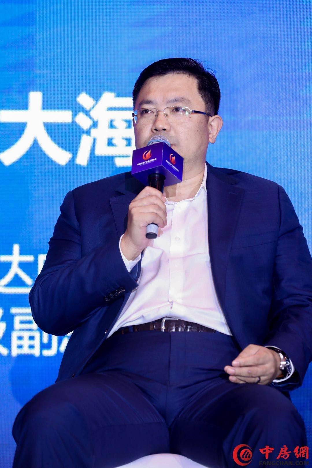 亿达中国于大海: 房地产业会继续大鱼吃小鱼
