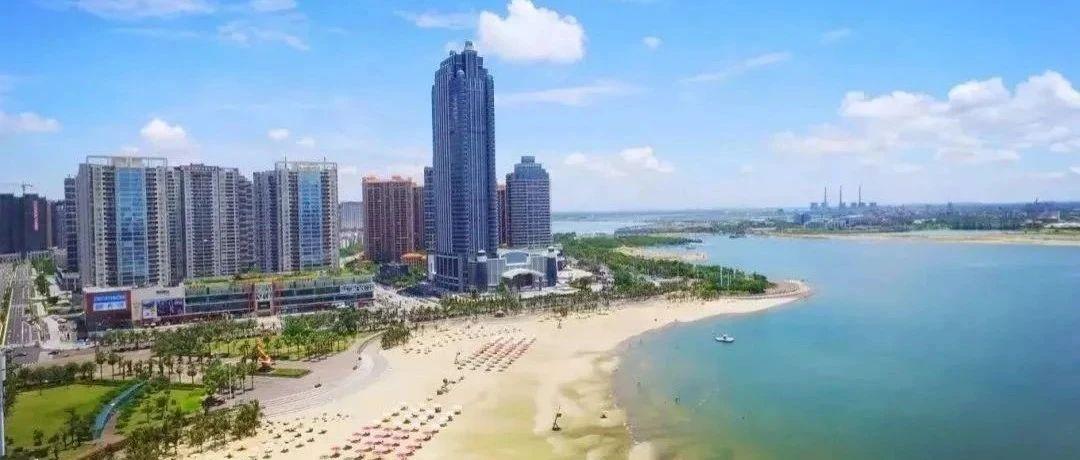 全国主流媒体湛江行打卡金沙湾 感受怡人海岸景观