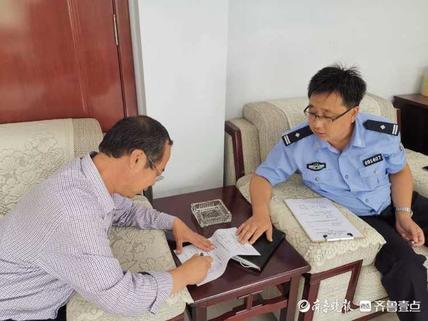 惠民县公安局交巡警大队进企业开展交通安全宣传教育讲座