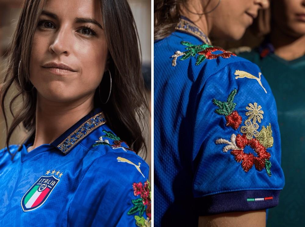 PUMA联手Football Gal推出意大利国家队定制球衣