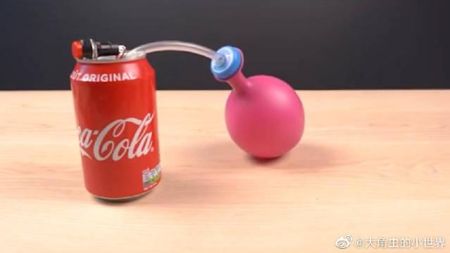 趣味小发明,易拉罐喝完不要丢掉,改造成这个,看完都想做一个!