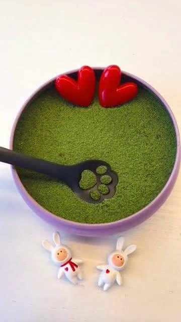 可爱的猫爪勺