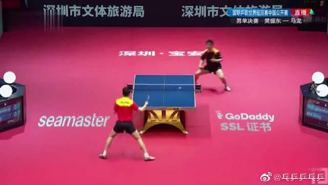 马龙VS樊振东:最强正手与最强反手的激情碰撞
