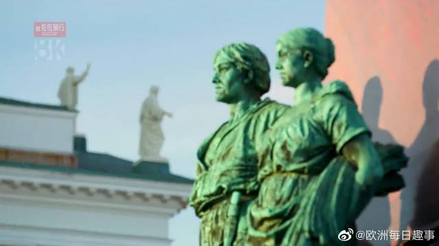欧洲旅行:芬兰首都赫尔辛基,白昼之城,世界最宜居城市之一