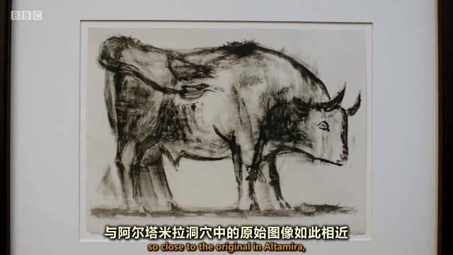 毕加索的公牛画作灵感来自古代岩画吗?