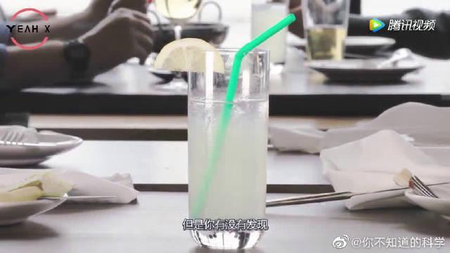 为什么麦当劳肯德基的咖啡吸管,中间都要凹进去?