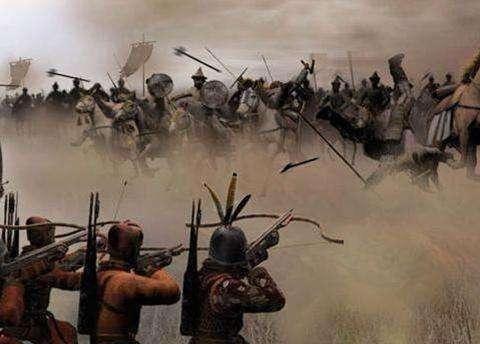 匈奴、鲜卑、柔兰、土耳其人,回鹘……