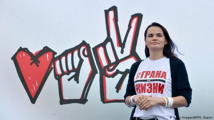白俄罗斯反对派领导人要求结束暴力……