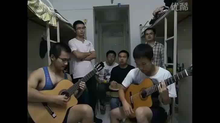 《宿舍加州旅馆》 来自六位理工大研究生的翻唱!!