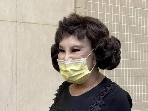 87岁整容狂魔黄夏蕙近照有点吓人