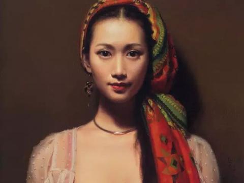 他的作品 重现了古典油画中,如诗一般的美!