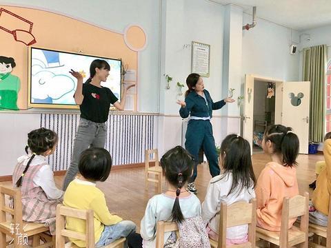 """四川岳池:翔凤幼儿园开展""""示范引领,携手并进""""优秀教师公开课"""