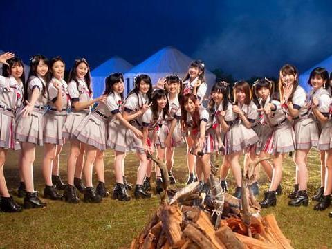 AKB48 Team TP抽地狱组睡蒙古包,惨被大批昆虫袭击吓到狂叫
