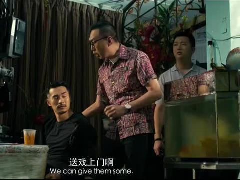 转型团伙:吴镇宇正吃饭,家里闯进陌生人,看见他就下跪
