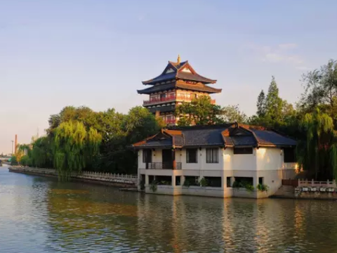 想去中国常州旅游的景点:天目湖山水园,东坡公园,淹城遗址