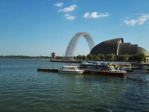 """山东一免费人工湖,面积是济南大明湖4倍多,人称聊城""""小西湖"""""""