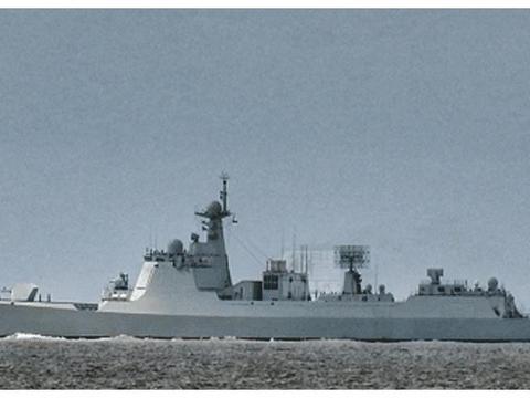 """不再是""""养老舰队"""",已装备6艘052D、1艘055,综合实力接近英国"""